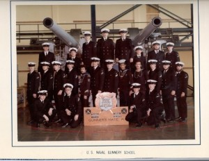 Gunnery School Graduation Feb 1976