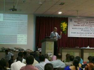 Speaking in Pune